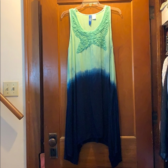 island beach Dresses & Skirts - Island beach tie dye dress or swim coverup small